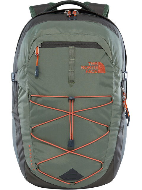The North Face Borealis reppu 28 L , harmaa/oliivi